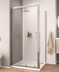 K2 1400mm Sliding Shower Door - Adjustment 1360 -1420mm