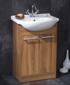 Elba 55 Vanity Unit - Special Offer* - includes Alpha tap and waste