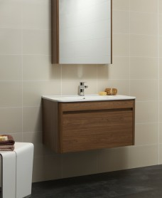 Ella 80cm 1 Drawer Wall Hung Vanity Unit