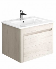 Ella 60 Light Wood Vanity Unit