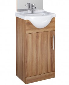 Belmont 45cm Vanity Unit Walnut