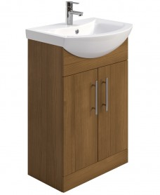 Belmont 55cm Vanity Unit Walnut