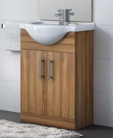 Belmont 65cm Vanity Unit Walnut