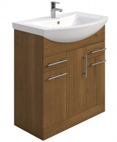 Belmont 75cm Vanity Unit Walnut