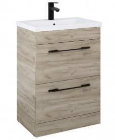 Otto Plus Craft Oak 50cm Vanity Unit