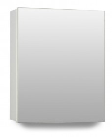 Hampton 1 Door Mirror Cabinet 40cm White