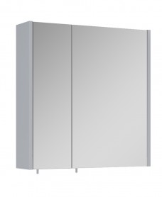 Otto Plus Gloss Light Grey 60cm Mirror Cabinet