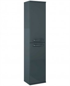 Otto Plus 300mm Gloss Grey Wall Column