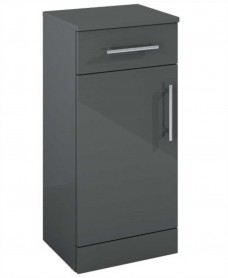 Belmont Base Storage Unit Gloss Grey