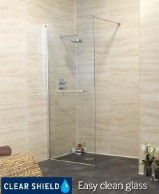 Revive 700 Wetroom End Panel - 50% off While Stocks Last