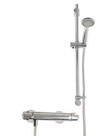 EVA TMV2 T-Bar Shower Valve & ION Slide Rail Kit