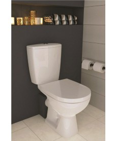 Faro Compact Close Coupled Toilet and Seat