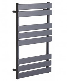 Forge 800 x 500 Heated Towel Rail - Anthracite