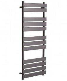 Forge 1200 x 500 Heated Towel Rail - Anthracite