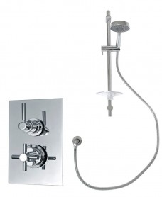 Galaxy Thermostatic Shower Valve Kit H