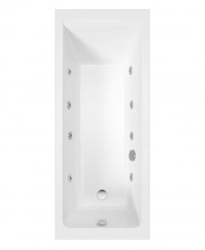 Cubo 1700x700 Single Ended 8 Jet Bath