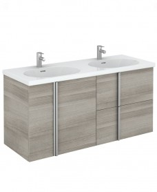 Avila 120 Unit 2 Drawer 2 Door Sandy Grey & Idea Basin