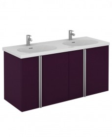 Avila 120 Unit 4 Door Aubergine & Idea Basin