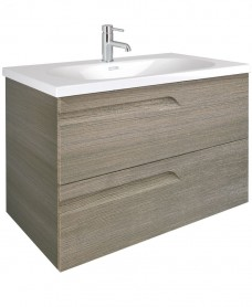 Brava 100 Ash 2 Drawer Unit & Idea Basin