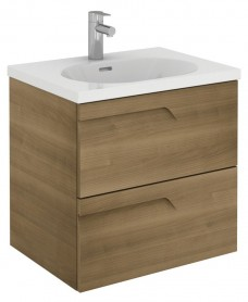 Brava 60 Walnut 2 Drawer Unit & Idea Basin