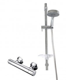 JAY T-Bar Shower Valve & Marine Slide Rail Kit