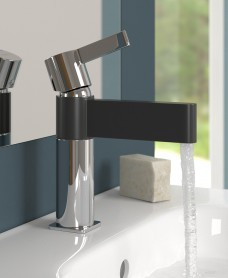 Josh Black Spout Basin Mixer