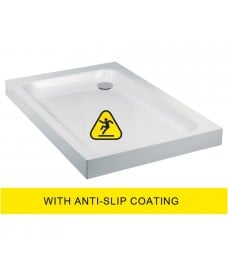 JT Ultracast 1200x800 Rectangle Shower Tray - Anti Slip