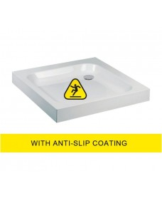 JT Ultracast 800 Square Shower Tray - Anti Slip