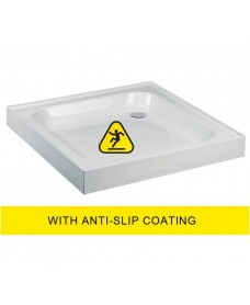 JT Ultracast 760 Square Upstand Shower Tray   - Anti Slip