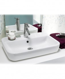 Caspia Countertop Basin Square