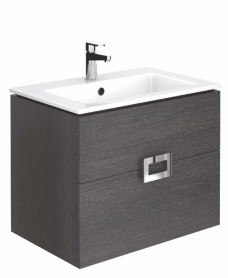 Katie Dark Wood 80 Vanity Unit