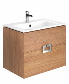 Katie Walnut 65 Vanity Unit and Basin ** 50% Off While Stocks Last