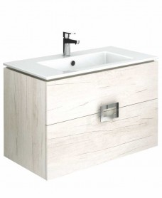 Katie Light Wood 80 Vanity Unit