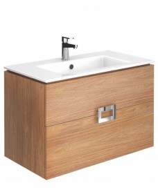 Katie Walnut 80 Vanity Unit