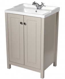 Kingston 60 Stone Vanity Unit & Victoria Basin