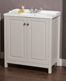 Kingston 80 Stone Vanity Unit & Victoria Basin