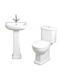 Decor Pack - includes Toilet and Wash Basin and Pedestal
