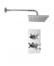 LIBRA Dual Shower Valve & Kelda Shower Head