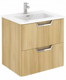 Lyon Nordic Oak 60 Vanity Unit