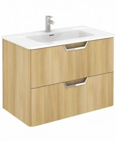 Lyon Nordic Oak 80 Vanity Unit