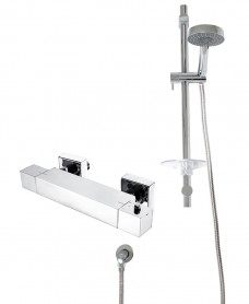MAX T-Bar Shower Valve & Marine Slide Rail Kit