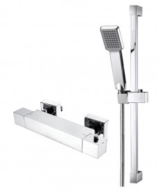 MAX T-Bar Shower Valve & Square Slide Rail Kit
