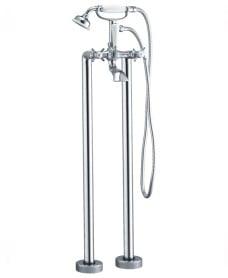 Edwardian Floor Standing Bath Shower Mixer