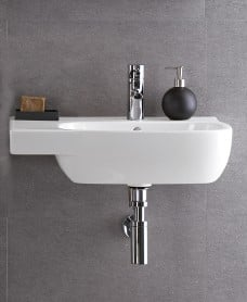 Twyford Moda Basin 65cm with Shelf LH