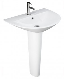 Morning Basin 60cm & Full Pedestal (1TH)