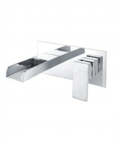 Bingley Wall Mounted Basin Mixer With Easy Box