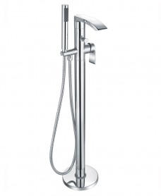 Corby Floor Standing Bath Shower Mixer