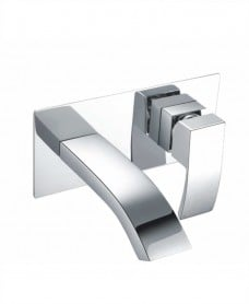 Corby Wall Mounted Basin Mixer With Easy Box
