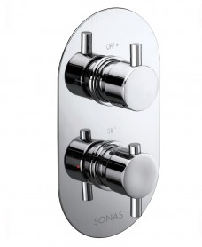 ORION Dual Control Shower Valve with 2-outlet