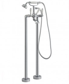 Traditional Floor Standing Bath Shower Mixer